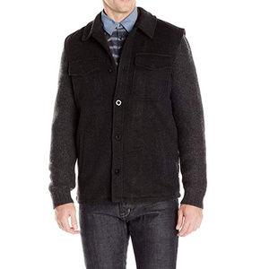 Robert Graham Men's coat with herringbone wool